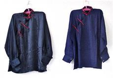 【1点もの】表演服 紺/赤 斜開式タ